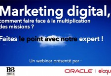 Webinar : Marketing digital, faire face à la multiplication des missions ?