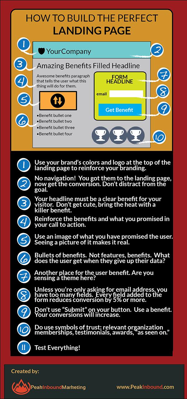 Landing page 10 conseils pour la rendre efficace