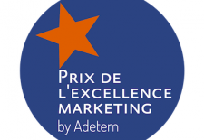 Prix de excellence marketing par Adetem
