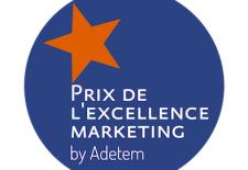 Prix de excellence marketing par Adetem
