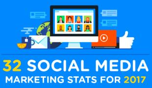 Social media : 32 stats